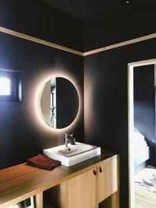 Iluminacion de espejos